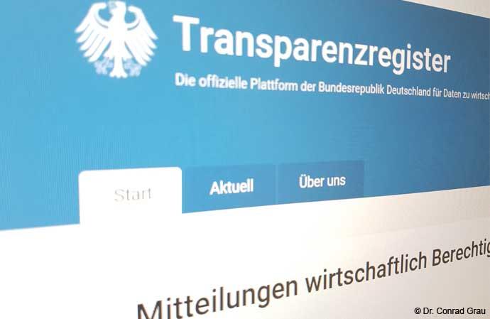 Transparenzregister - Neue Geschäftsführerpflicht ab dem 1. Oktober 2017